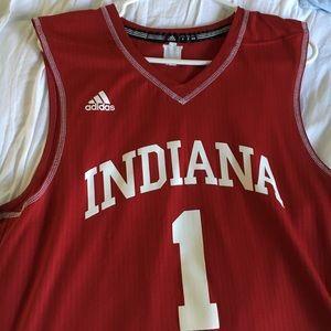 741247efb9e adidas Shirts | Authentic Iu Basketball Jersey | Poshmark